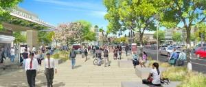Draft rendering of proposed plans