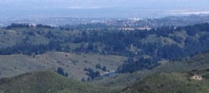 Lake Pilarctos is the hidden lake in the SF Bay Area, not just hidden from public view, but of public consciousness