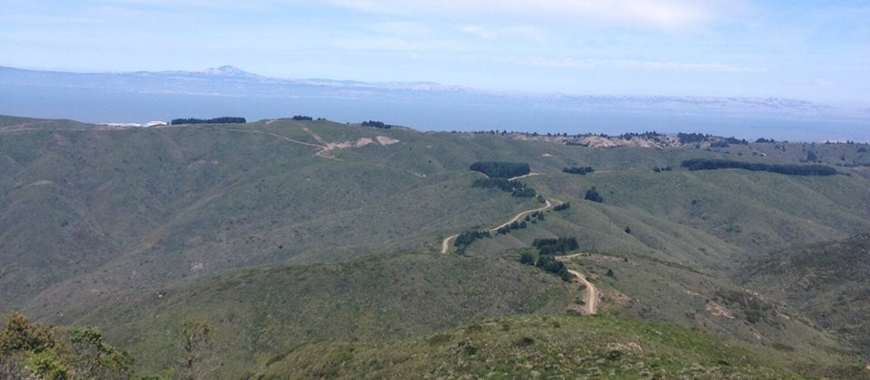 Whiting Ridge Trail expands between Montara Mtn and Sweeney Ridge. It must be opened for responsible public use