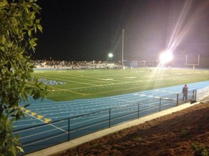The first WARRIOR game on our new field 9.12.2014 Photo: John C Baker