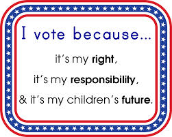vote right responsiblity childrens future