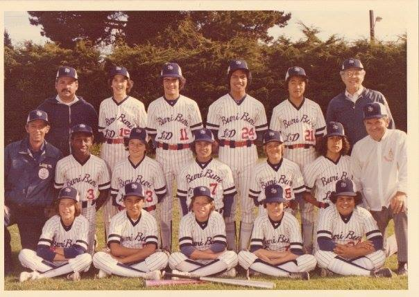 1979 South San Francisco Colt League Champions Buri Buri Liquor and Deli.....back to back season Champs, 1978 as well! #11 Charles Crispo-Desira
