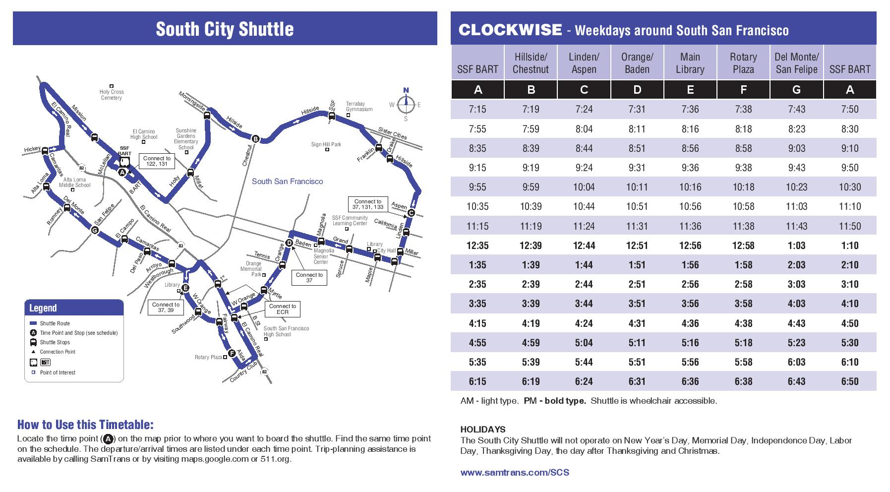 SamTrans Shuttle Schedule 10.2014-page-002