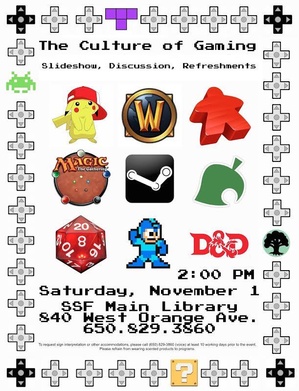 gaming library November