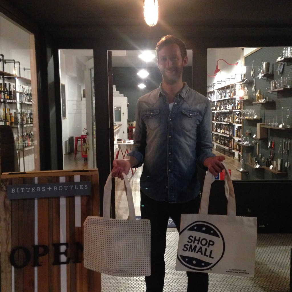 Bitters & Bottles is a hip boutique bottle shop stocking a variety of small-label spirits & barware in a stylish interior