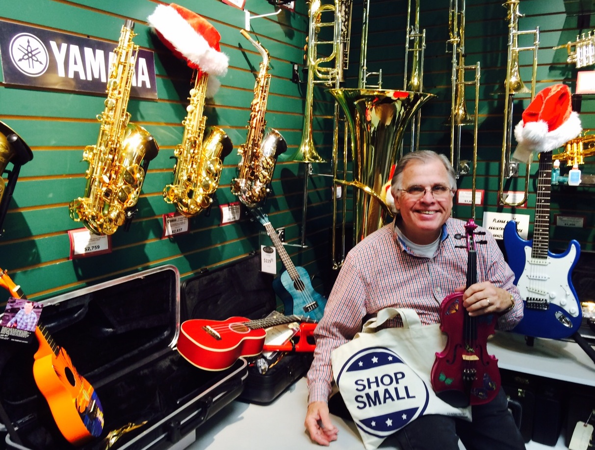 Brontstein Music has been on Grand Ave since 1946. We can help you choose the right instrument or accessory for yourself or as a gift at Internet competitive prices. We have 25 instructors ready to teach you how to play, and three repairmen to keep your instrument in top shape!