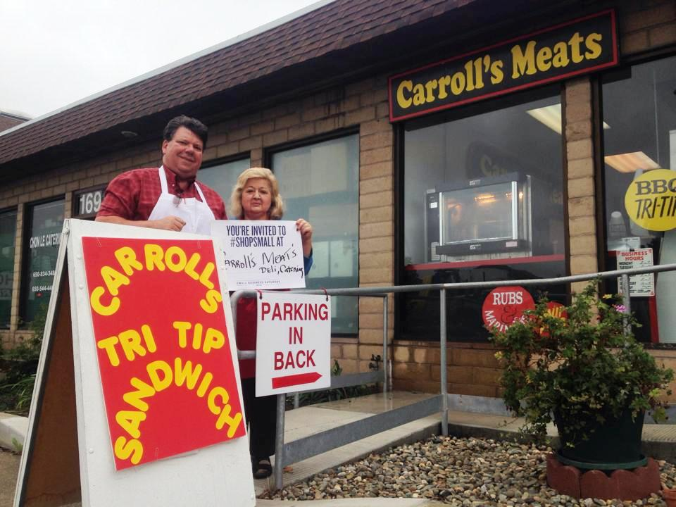 Carroll's Meats boasts the BEST Tri-tip and meats!
