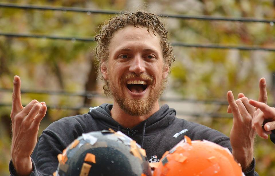 SF Giants Champ Hunter Pence Photo: Vinny Vance