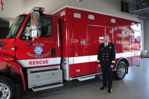 SSF Welcomes our new Fire Chief Gerry Kohlmann