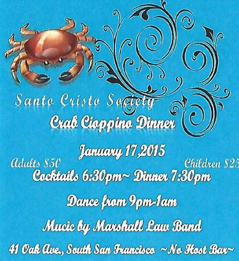 santo Crhisto Society crab cioppino