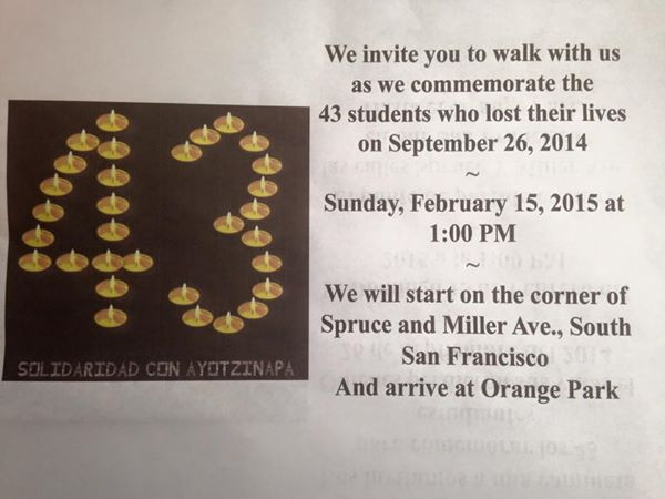 walk for 43