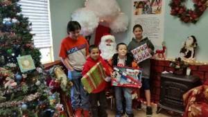 SSF Kaiser brings joy to those in need