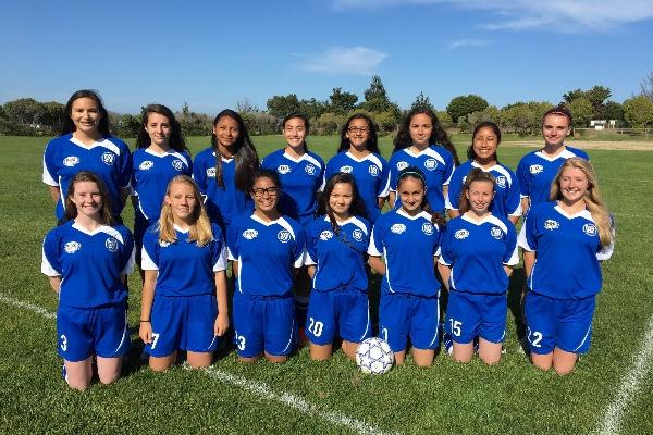 AYSO San Bruno / South San Francisco, U-16 Girls National Soccer Team