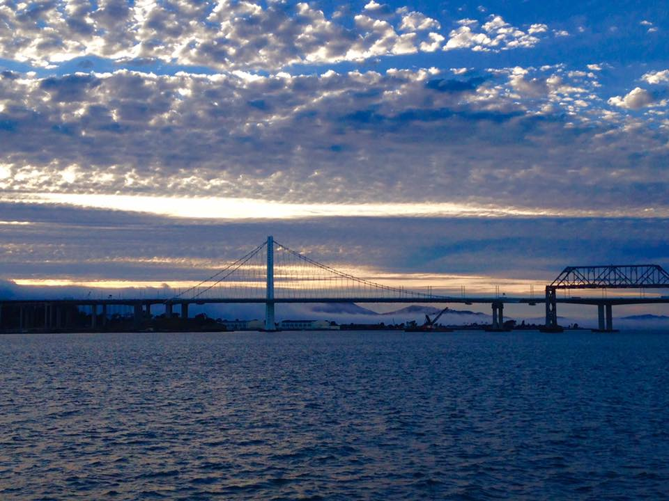 The Port of Oakland's free, 90-minute public boat tour will take you from Jack London Square to the Port's outer harbor to the San Francisco Bay Bridge and back. - Robert Bernardo