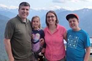 John Baker & his wife have 2 children who attend local schools (Kindergarten t & 7th grades)