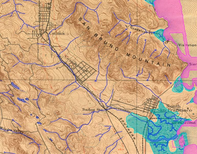 Colma Creek 1896