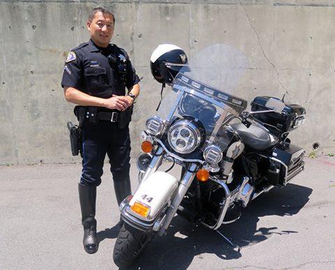 Officer Robbie Chon, SSFPD Photo: City of SSF