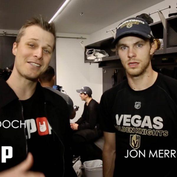 Kilpop Stage Left: Jon Merrill Las Vegas Golden Knights