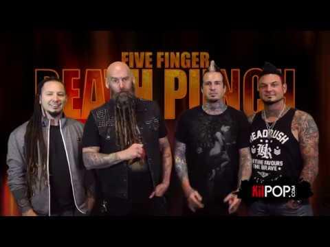 Five Finger Death Punch take the Kilpop Quiz!