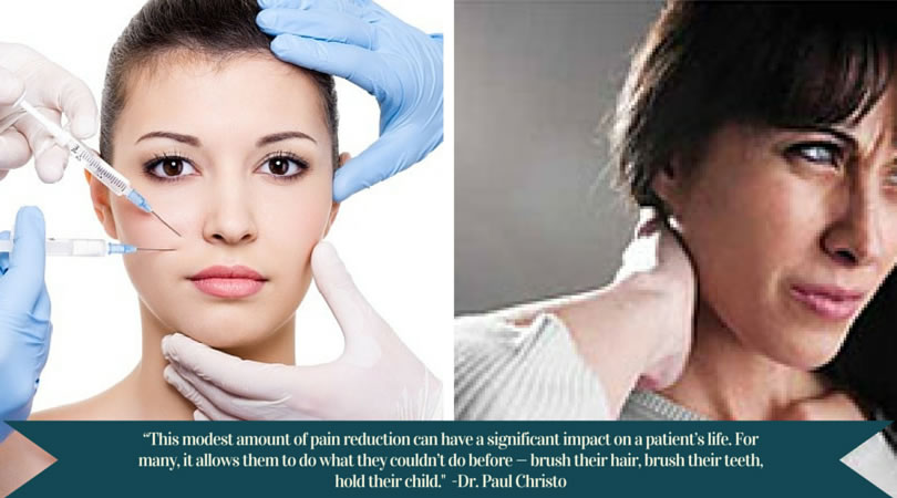 Botox treatments may help people with certain medical conditions manage their pain and improve their quality of life.