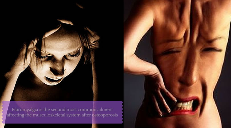 Fibromyalgia causes widepsread pain and other pain-related symptoms.
