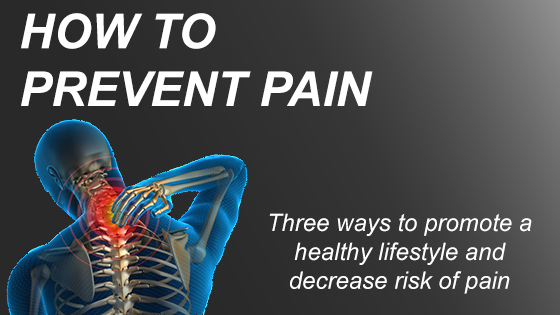 How to Prevent Pain