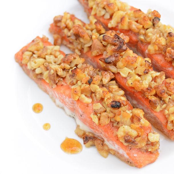honey-walnut-salmon