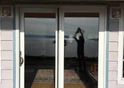 French door after