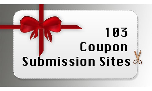 coupon submission sites