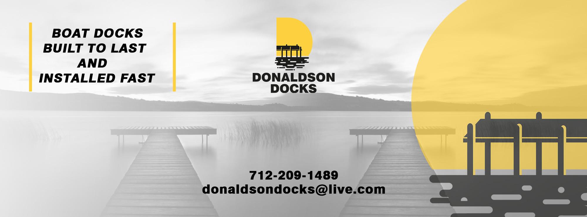 Testimonials - Donaldson Docks   Okoboji and Spirit Lake