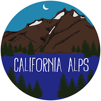 California Alps Bike Rides emblem