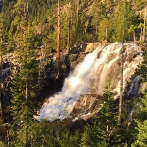 Eagle Waterfall is the most popular waterfall in the Lake Tahoe region.