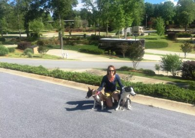 Lake Greenwood Motorcoach resort Dog Friendly!
