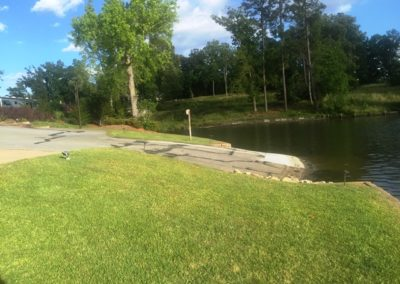 Lake Greenwood Motorcoach Resort Boat Ramp