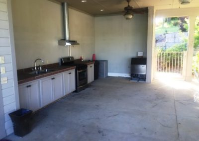 Lake Greenwood Motorcoach Resort Kitchen Area