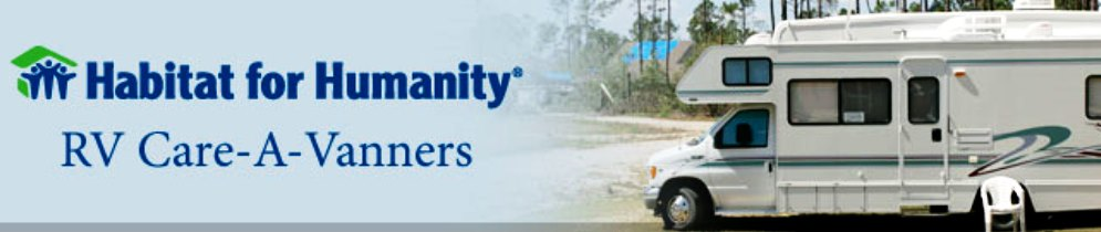 Volunteering while RV'ing – RV Care-A-Vanners