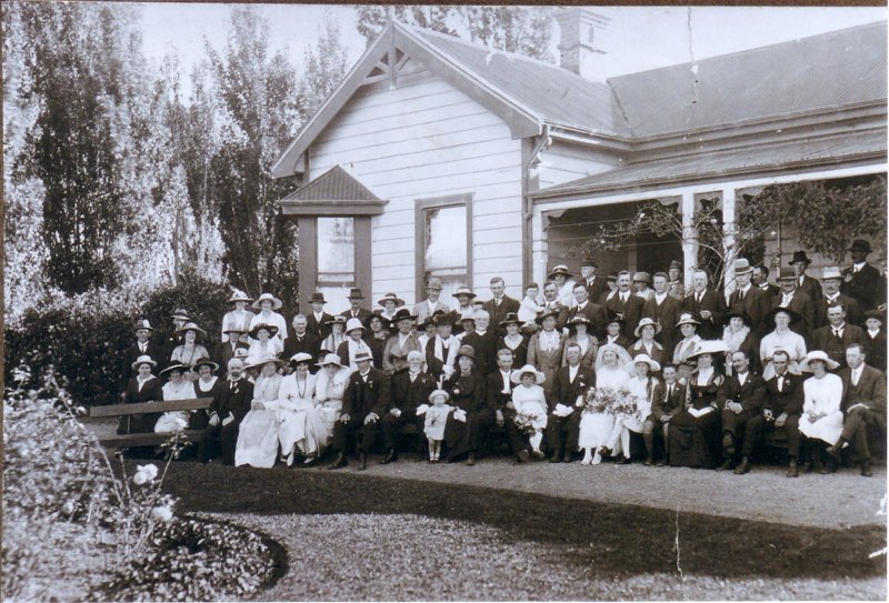 Fairweather gathering near Blenheim in New Zealand