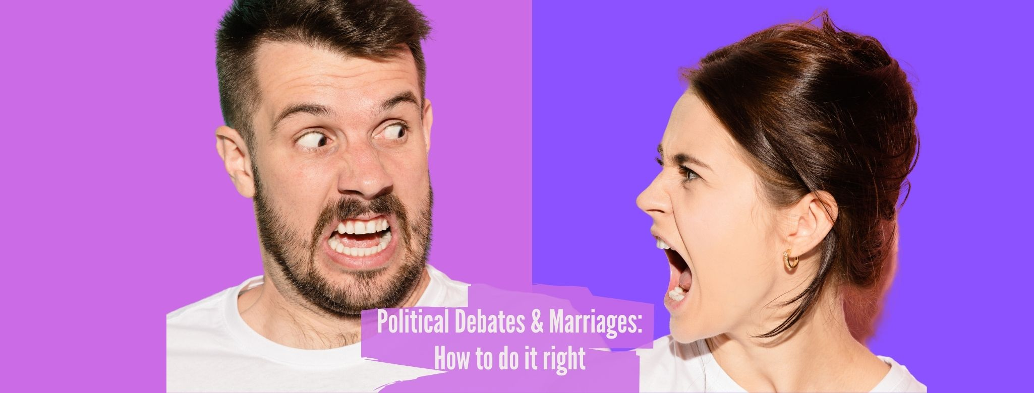Political Debates and Marriages How to do it right