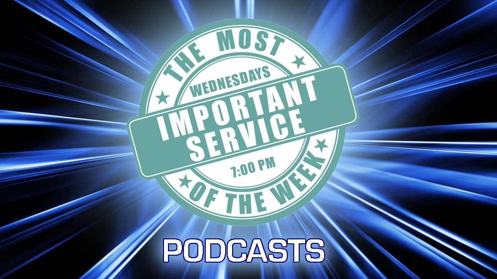 Wednesday Evening Service Podcast