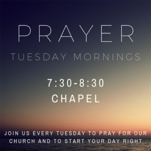 Prayer Tuesday Mornings @ Bethany Assembly of God