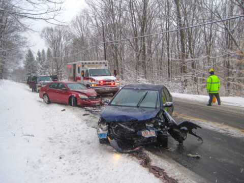Head-on Collision, Rt. 9 Goshen