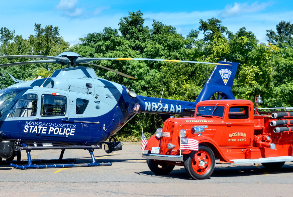 MSP Helicopter and GFD 1937 Dodge