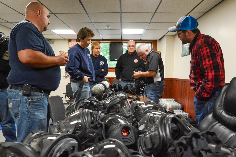AFG Grant for Drager SCBA Equipment