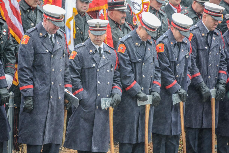 Worcester Fire Lt. Jason Menard
