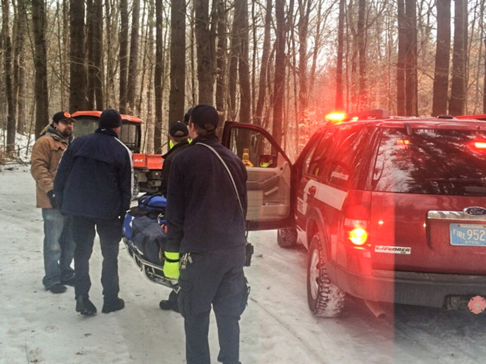 Injured Hiker Rescued from the D.A.R.