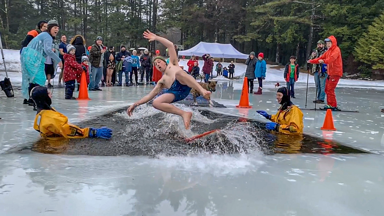 Polar Plunge at the D.A.R.