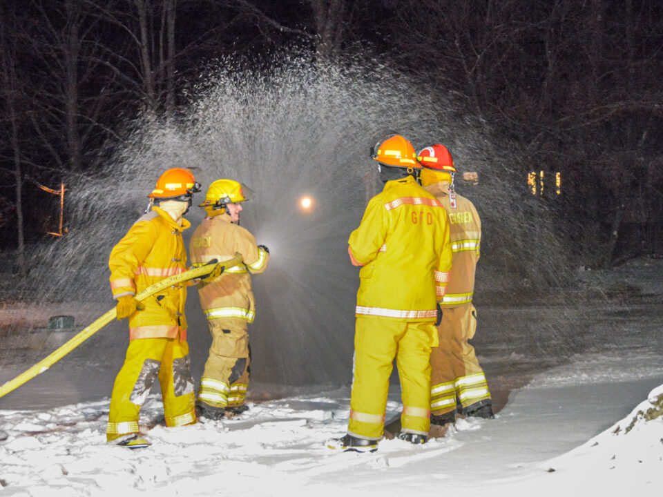 Training Drill at the Fire Station