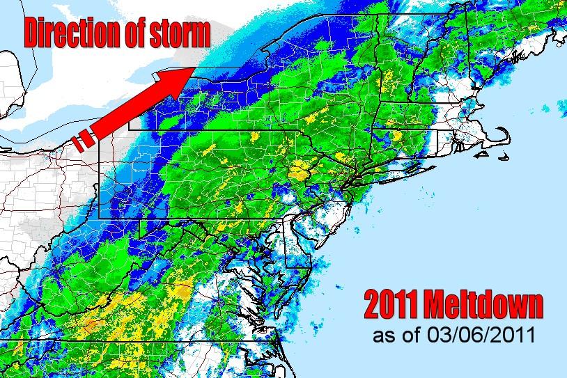 2011 Meltdown as of 03/06/2011