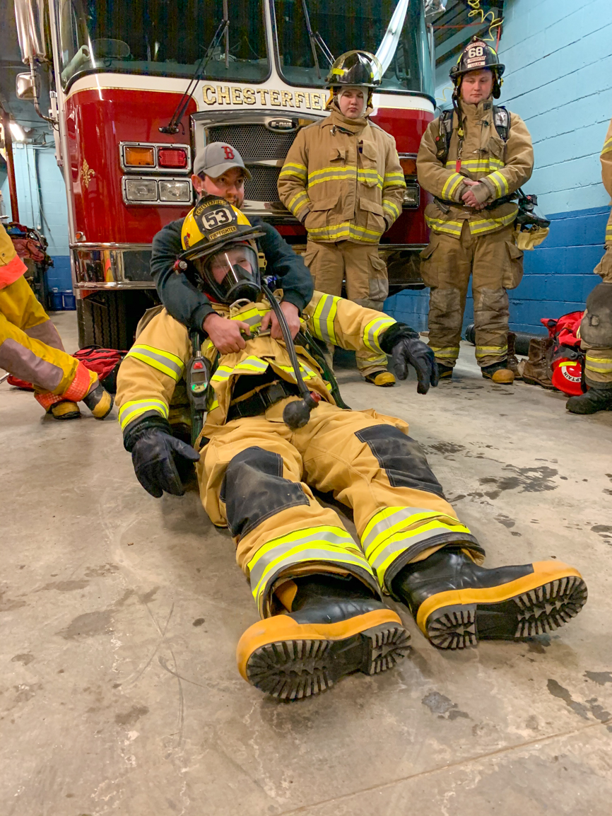 Tri-town Drill in Chesterfield on 2/11/2020