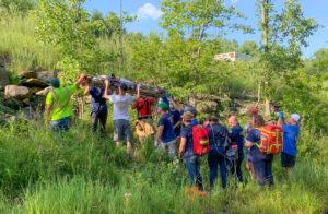 Westfield River rescue in Cummington, MA